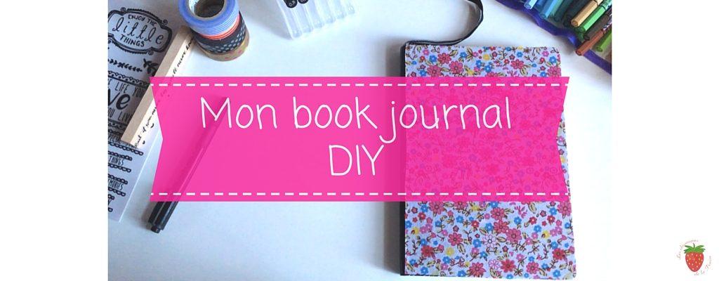 Book journal personnalisé DIY de la Fraise
