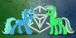 Petit poney, ingress Résistance vs illuminé