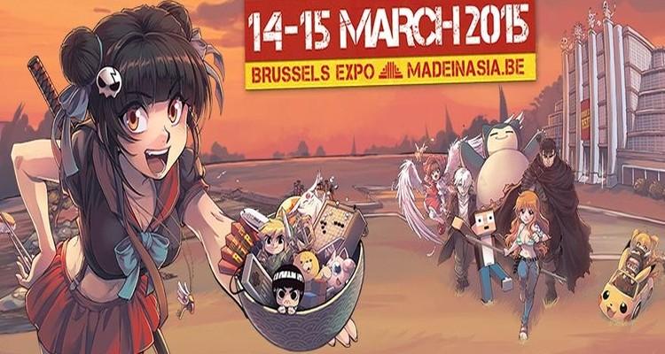 La Made In Asia à Bruxelles le 14 et 15 mars 2015