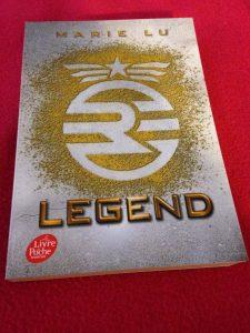 Legend tome 1 Marie LU