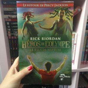 Héros de l'olympe tome 2 le fils de neptune de Rick Riordan