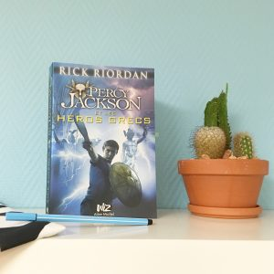 Percy Jackson et les héros grecs de rick riordan