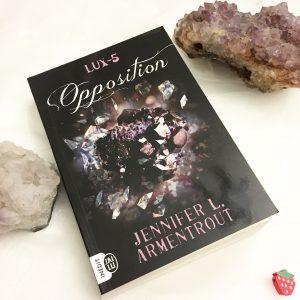 Lux tome 5, Opposition de Jennifer L. Armentrout