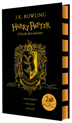 Harry potter tome 1 editions 20 ans