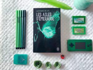 Les ailes d'emeraude tome 1 de Alexiane de lys