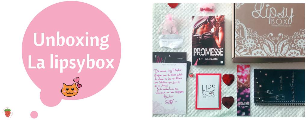 unboxing la lipsybox